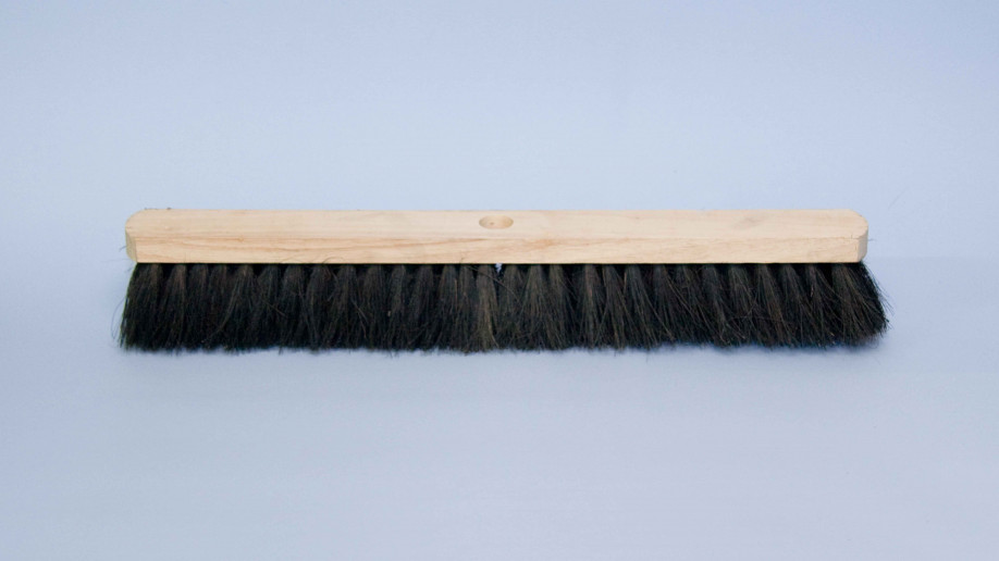 24 60CM CONTRACT FLAT TOP BLACK COCO PLATFORM BROOM EA.