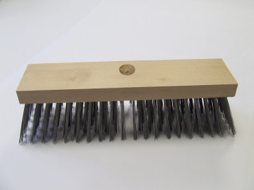 12 WIRE DECK BRUSH EA.