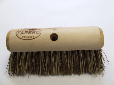 10.5 26CM FARBRO BASSINE MIX YARD BROOM WAXED ENDS EA