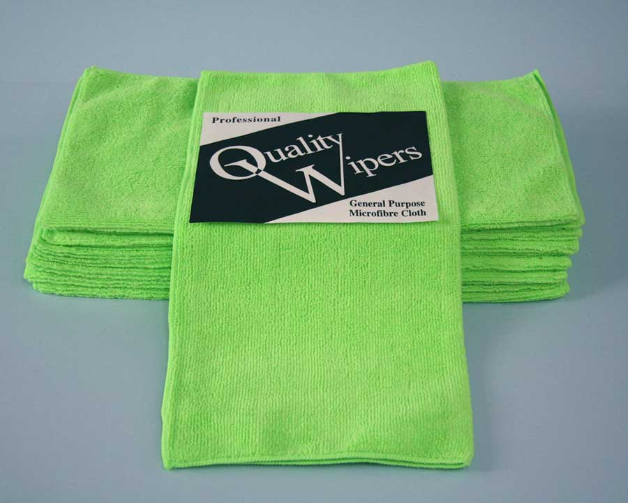 GENERAL MICROFIBRE CLOTH - GREEN - BOX