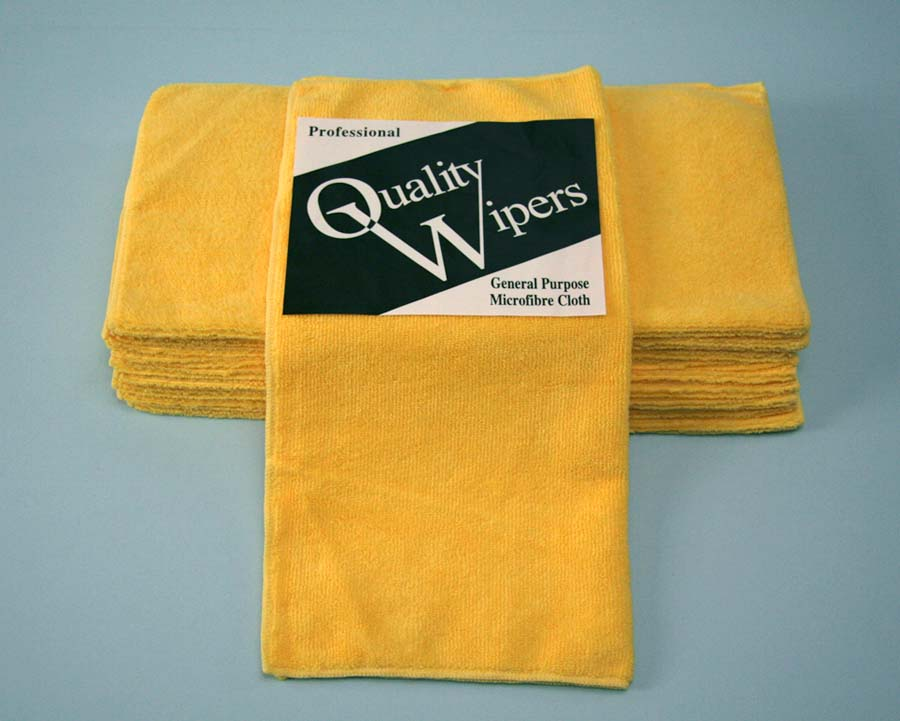 GENERAL MICROFIBRE CLOTH - YELLOW