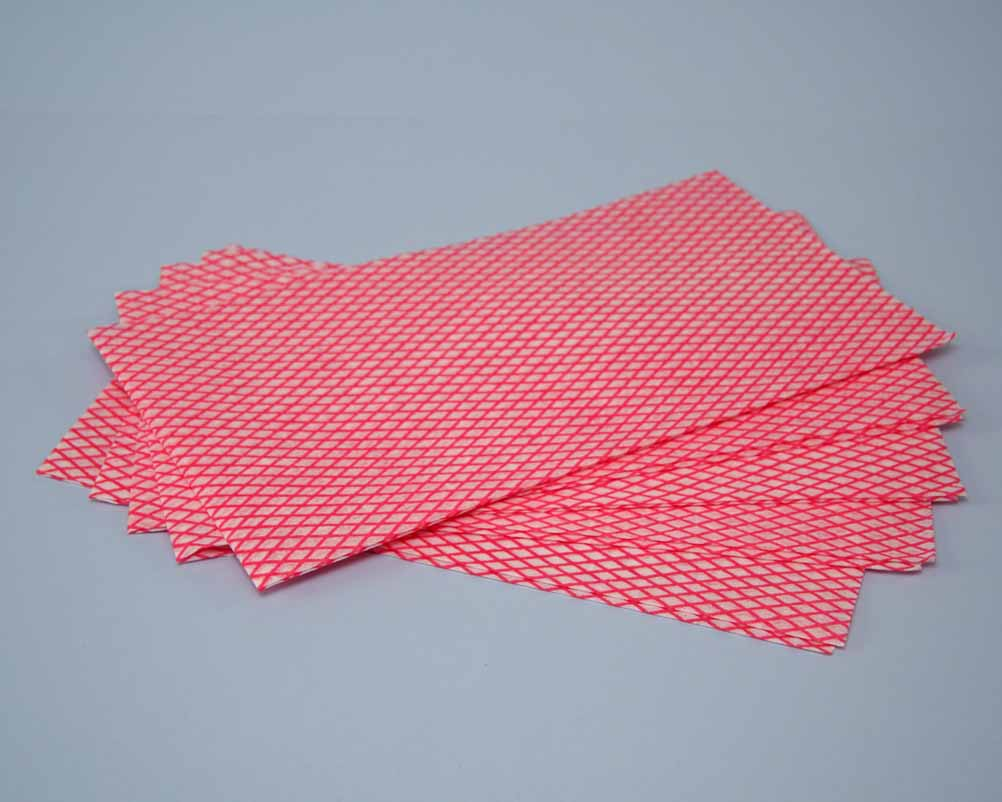 MULTI PURPOSE NON-WOVEN CLOTH - RED
